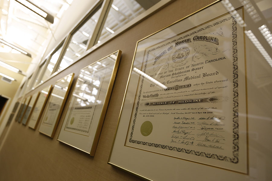 Wilmington-Gastroenterology-Associates-Endoscopy-Center-Diplomas